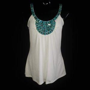 Cache Med dress top